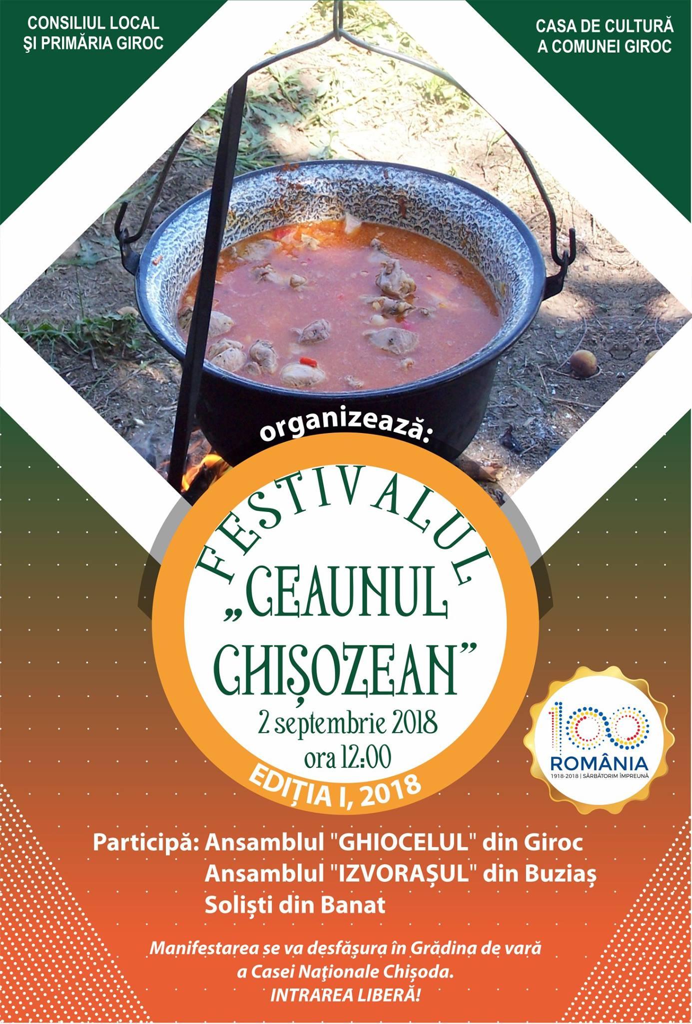 festivalul ceunul chisozean